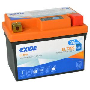 Motobaterie EXIDE BIKE Li-Ion 2Ah, 12V, ELTZ5S