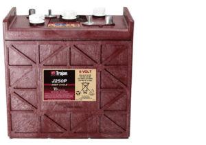Trakční baterie Trojan J 250 P (3 / 10 GiS 210), 250Ah, 6V