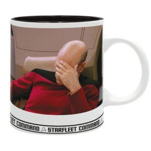 Hrnek Star Trek – Picard Facepalm