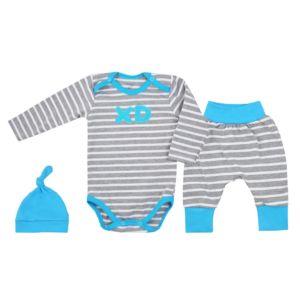 3-dílná bavlněná kojenecká souprava Koala XD modrá