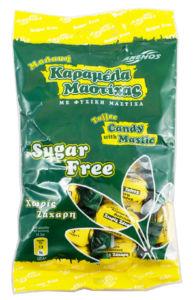 Karamelky s mastichou bez cukru 100g ANEMOS