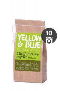 AKCE Yellow&Blue Mleté olivové mýdlo na praní (200 g) – i pro nejjemnější prádlo