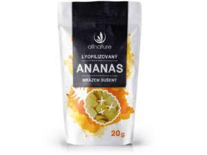 Ananas sušený mrazem kousky 20g Allnature