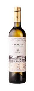 Bílé suché víno GOLDVINE Chardonnay 2018 LANTIDES 750 ml