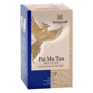 Bio Bílý čaj Pai mu tan porcovaný 18g Sonnentor