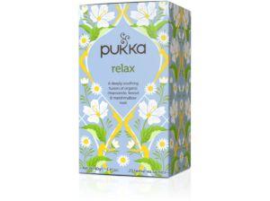 Bio čaj Relaxační vyrovnání Váty 20x2g Pukka