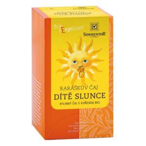 Bio Raráškův čaj – Dítě slunce – porc. bylinný čaj s kořením 30g (20sáčků) Sonnentor