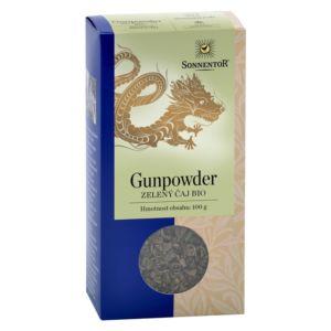 Bio Zelený čaj Gunpowder sypaný 100g Sonnentor