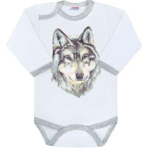 Body s potiskem New Baby Wolf
