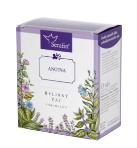 Bolavý krk (Angína) – bylinný čaj porcovaný 15 x 2,5g Serafín