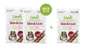 Canvit Snacks Skin & Coat 200g-AKCE 2+1 Zdarma