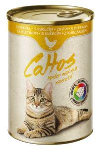 Cattos Cat with Chicken 415g-(Balení 24 kusů)