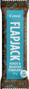 Cerea Flapjack Kokos,belgická čokoláda bezlepkový 60g