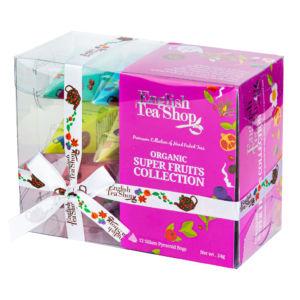 Čaj Super ovocný 12 pyramidek – 4 příchutě BIO ENGLISH TEA SHOP