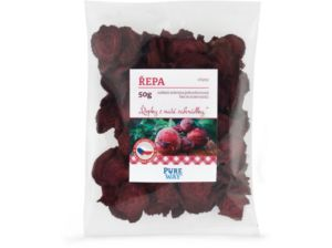 Červená řepa – chipsy 50g Pure Way