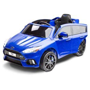 Elektrické autíčko Toyz FORD FOCUS RS – 2 motory blue