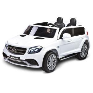 Elektrické autíčko Toyz MERCEDES GLS63 – 2 motory white