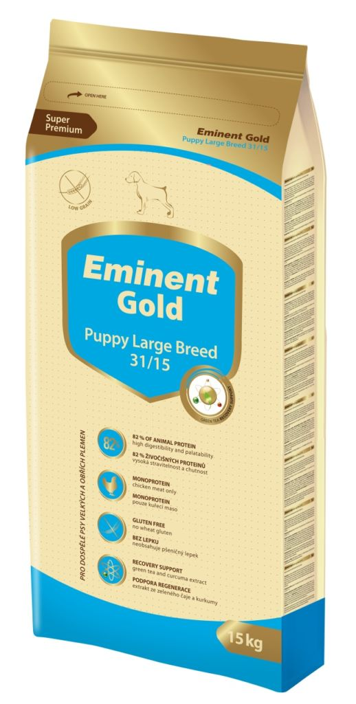 Eminent Gold Puppy Large breed 15kg-13918