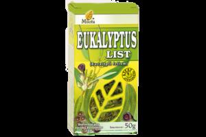 Eukalyptus list 50g x Eucalyptus globulus folium cons. Sypaná bylina MILOTA