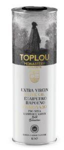Extra panenský olivový olej PDO ze Sitie 1l v plechovce TOPLOU MONASTERY