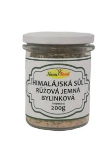 Himalájská sůl bylinková 200g Novafood SKLO
