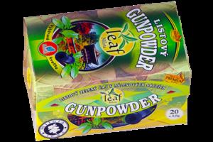 China Gunpowder green 40g(20x2g) LEAF Listový zelený čaj