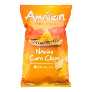 Chipsy kukuřičné nacho 150 g BIO AMAIZIN