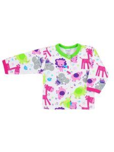 Kojenecký kabátek Bobas Fashion Zoo zelený pro holky