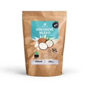 Kokosové mléko sušené BIO 200 g Allnature (Balení 9 + 1 Zdarma)