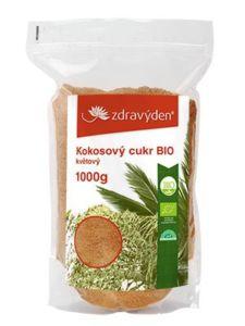 Kokosový cukr BIO květový 1000g Zdravý den