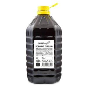 Konopný olej BIO 5000 ml Wolfberry