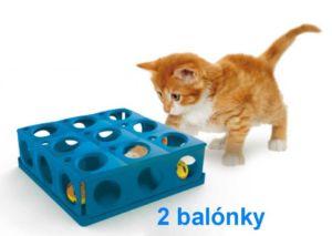 LABYRINT pro kočky TRICKY 25x25xh9-10604