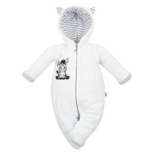 Luxusní dětský zimní overal New Baby Zebra