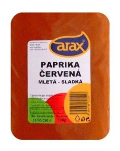 Mletá sladká paprika 500g ARAX