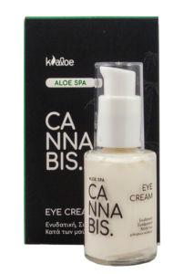 Oční krém s konopným olejem a výtažkem z Aloe vera 30ml KALOE