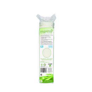 Odličovací tampóny z organické bavlny 80ks Masmi