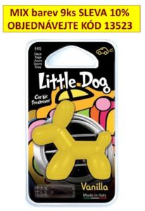 Osvěžovač vzduchu-LITTLE DOG VANILLA-13504