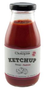 Pikantní kečup s medem a extra panenským olivovým olejem 280g DOLOPIA