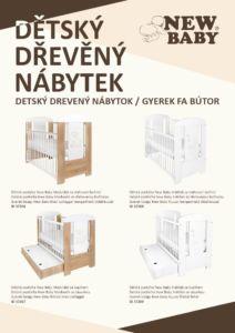 Propagační materiály New Baby NÁBYTEK – katalog 2020 balení 100 ks