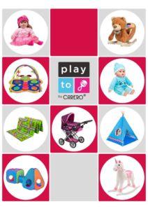 Propagační materiály PlayTo – katalog 2020 balení 100 ks