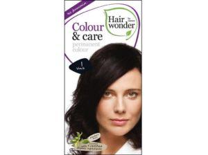 Přírodní dlouhotrvající barva Černá 1 100ml Hair Wonder
