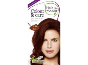 Přírodní dlouhotrvající barva Červená henna 5.64 100ml Hair Wonder
