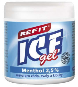 Refit Refit ICE gel s mentolem 230ml