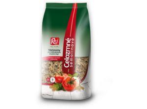 Těstoviny FUSILLI – celozrnná semolina 400g Rej