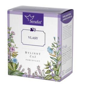 Vlasy – bylinný čaj porcovaný 15 x 2,5g Serafín