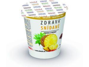 Zdravá snídaně – Ananas / rozinka 78g Obezin