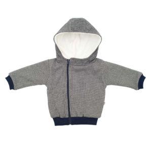 Zimní kojenecký kabátek s kapucí Baby Service Retro