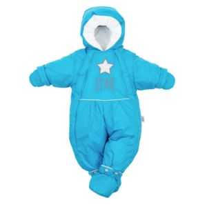 Zimní kombinéza 2v1 New Baby modrá