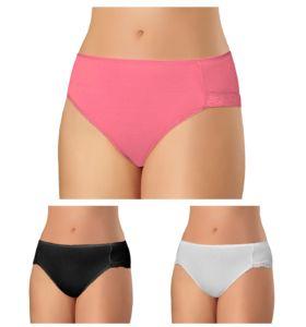Andrie PS 1406 L colour 3ks dámské kalhotky