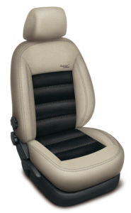 Autopotahy BMW X3 II F25, od r. 2010, AUTHENTIC LEATHER, béžovočerné